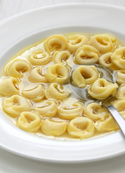 My Italian Honeymoon Inspired Soup Recipe: Tortellini en Brodo!