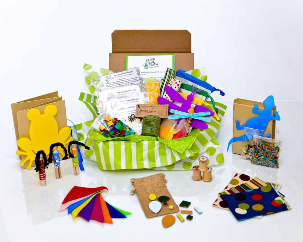 Green Kid Crafts!