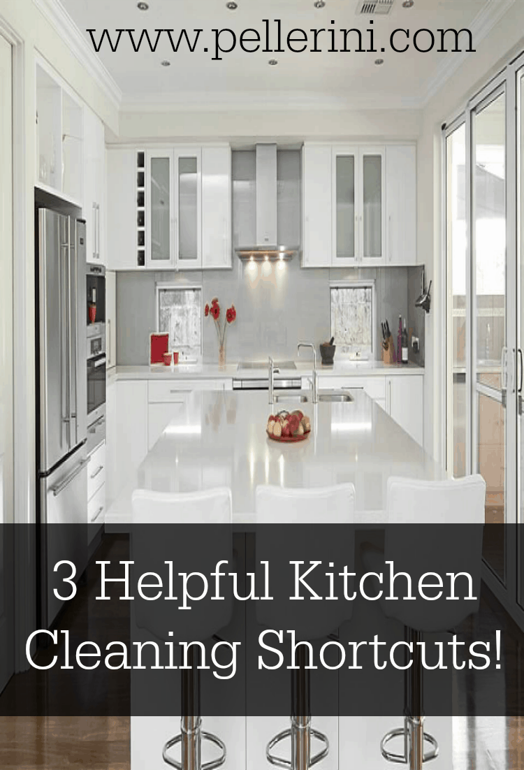 3 helpful kitchen cleaning shortcuts