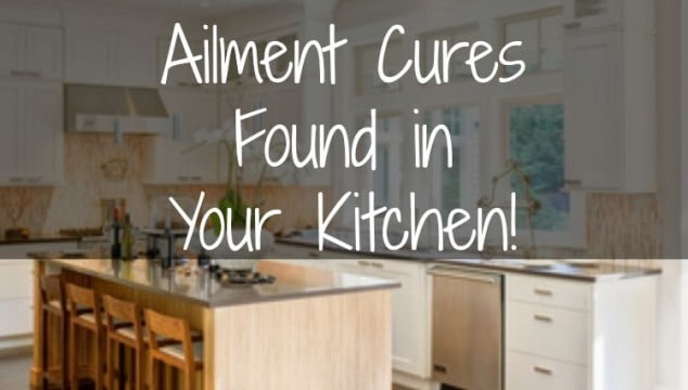7 Common Ailment Cures Found in Your Kitchen