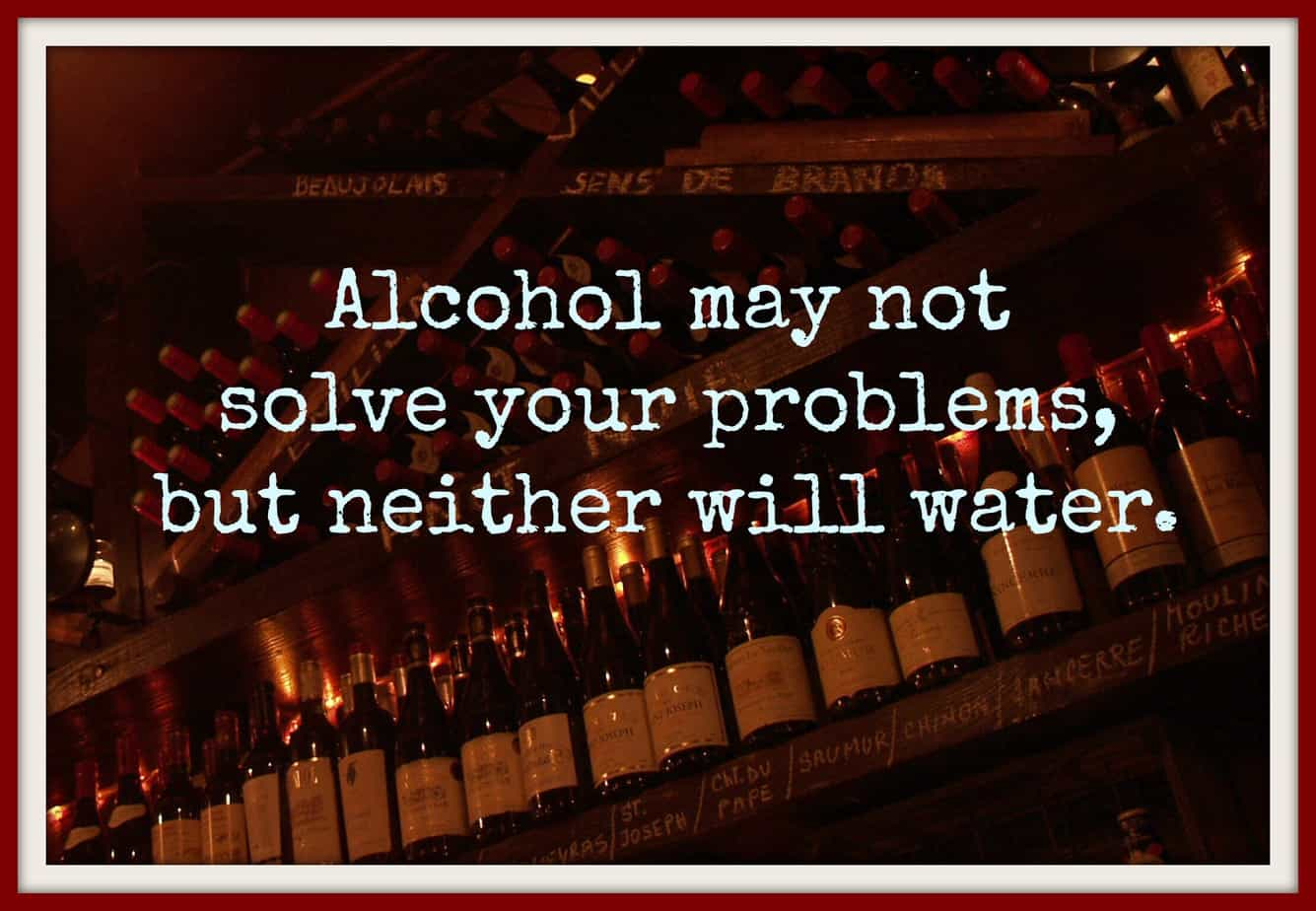 Wine Vs. Water