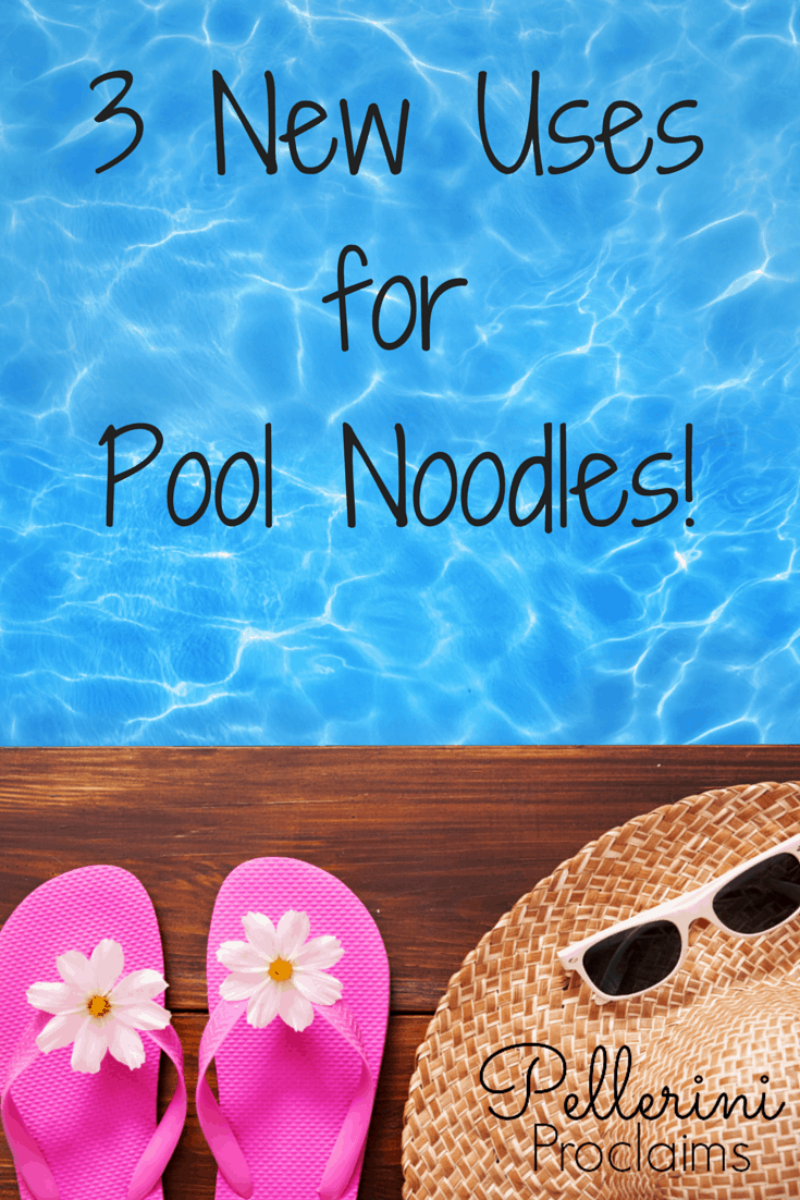 Three New Uses For Pool Noodles
