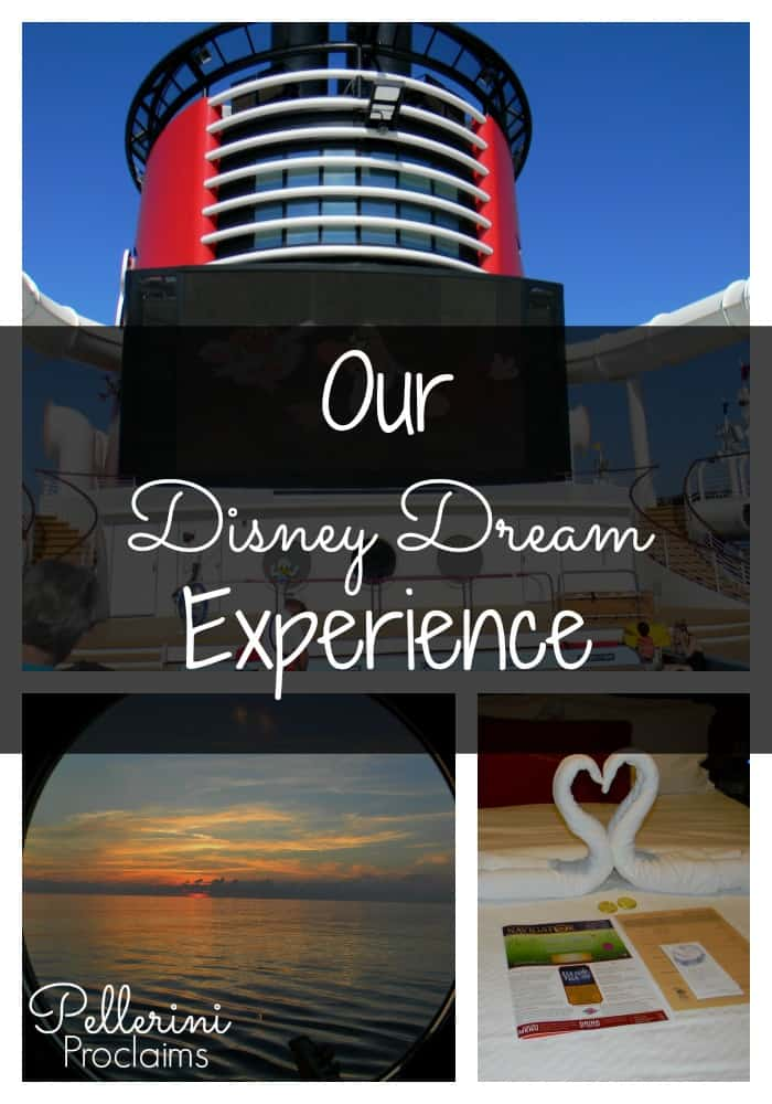 Our Disney Dream Experience