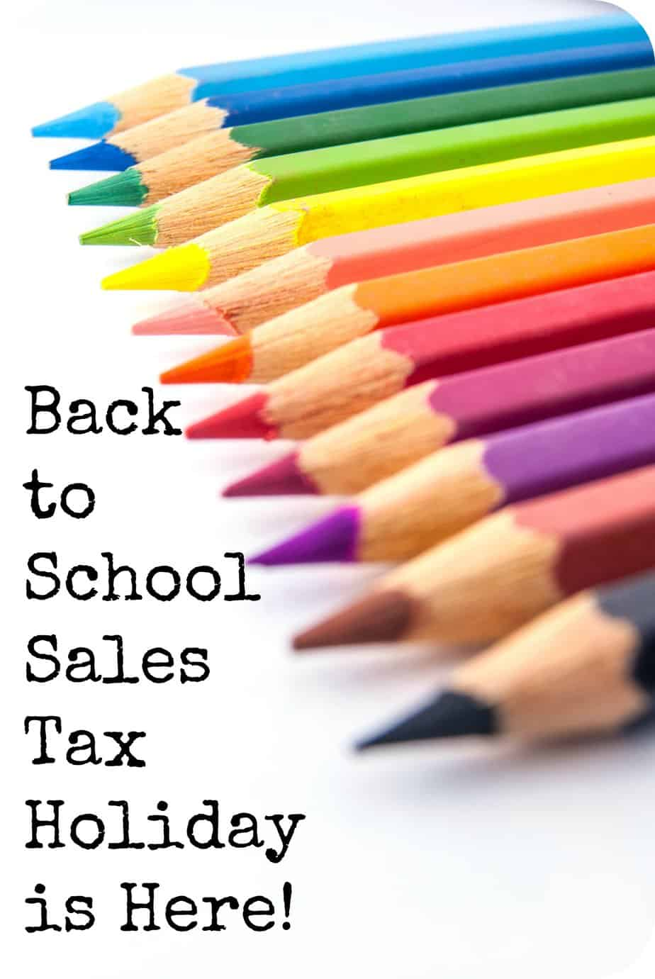 Florida Peeps – Back-To-School Sales Tax Holiday is Here!