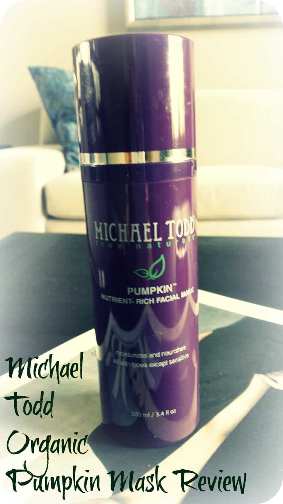 Michael Todd Organic Pumpkin Mask Review