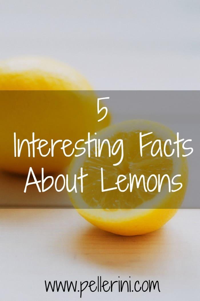 Five interesting facts about lemons pellerini - Unusual uses for lemons ...