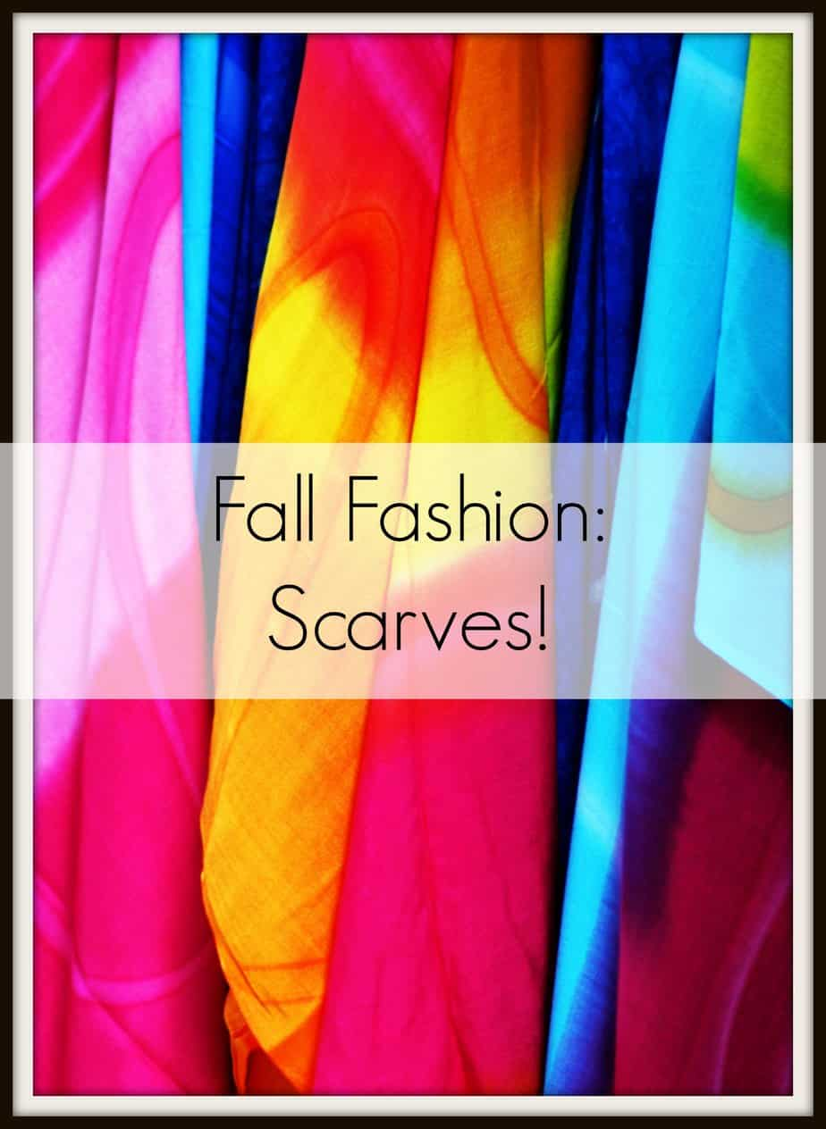 fall fashion scarves