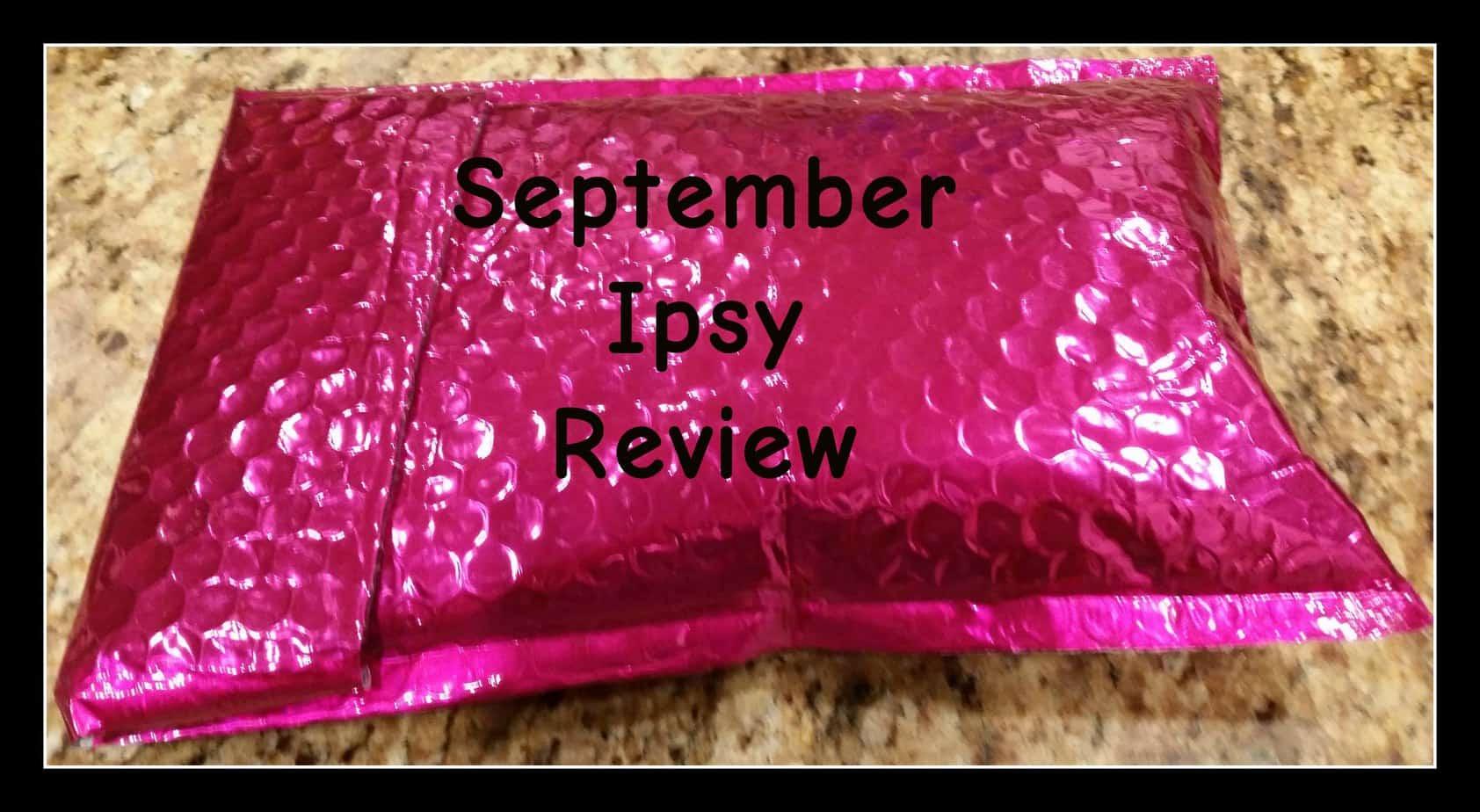 september Ipsy Review