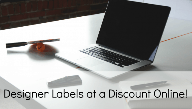 Designer Labels at a Discount Online!