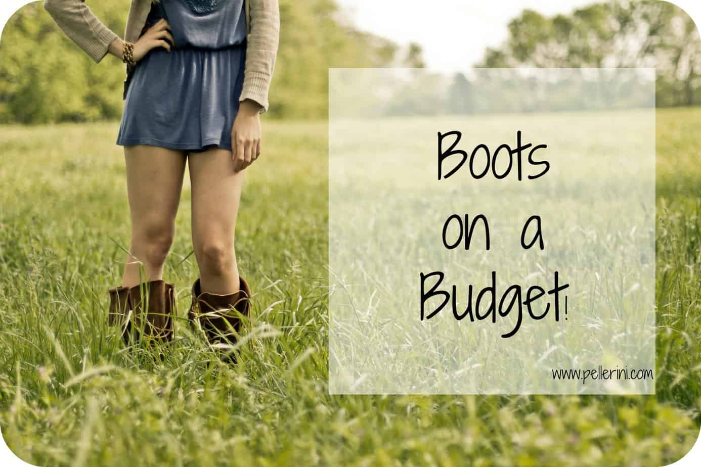 boots on a budget