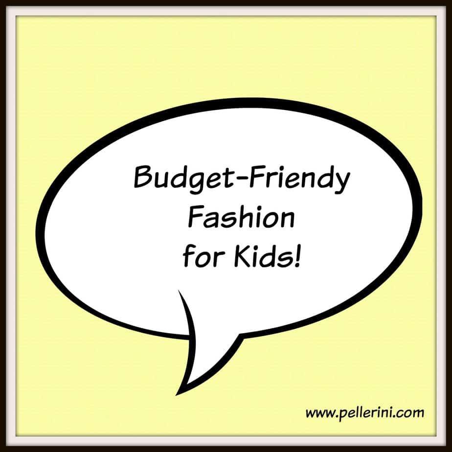 budget friendly fashion for kids