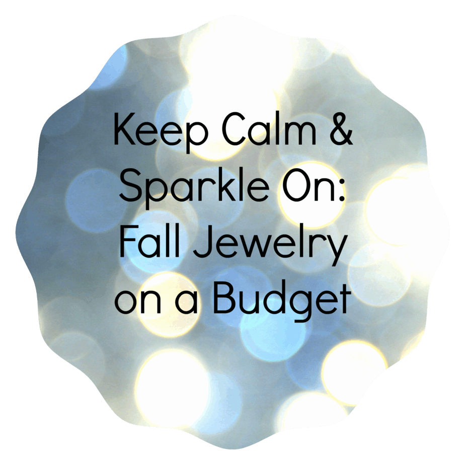 fall jewelry on a budget
