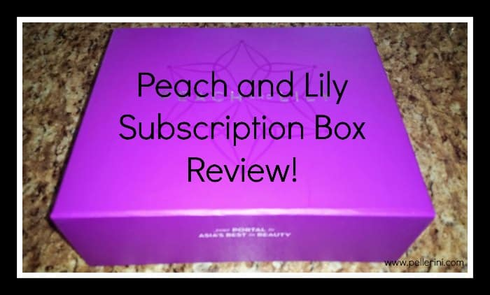 peach and lily subscription box review