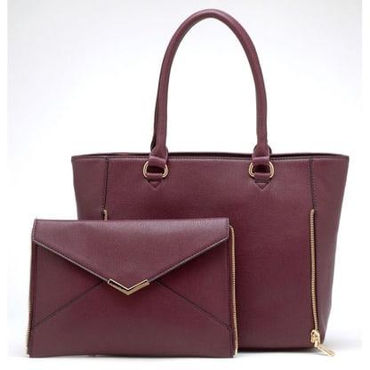 abbie satchel plum 6850