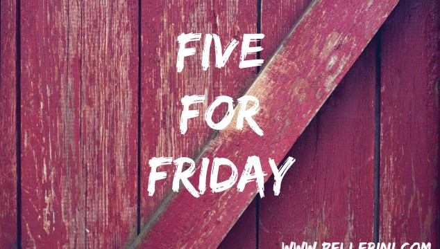 Five for Friday – November 14