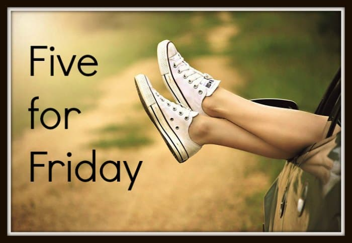 Five for Friday – November 21