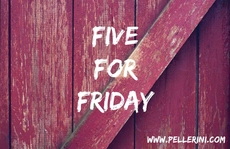 Five for Friday – November 14