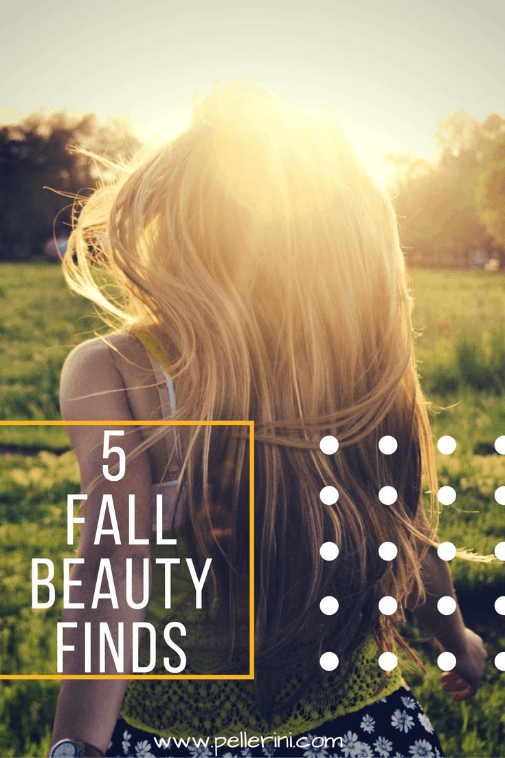 Five Fall Beauty Finds