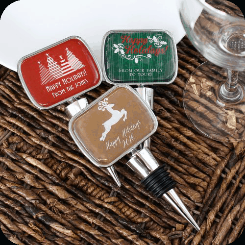 personalized bottle stopper beau coup