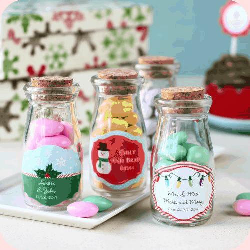 personalized milk jar favors beau coup