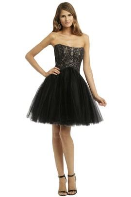 Allison Parris - Noir Wonderland Dress