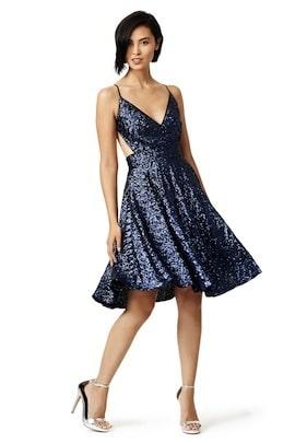 Contrarian - Sea Shimmer Dress