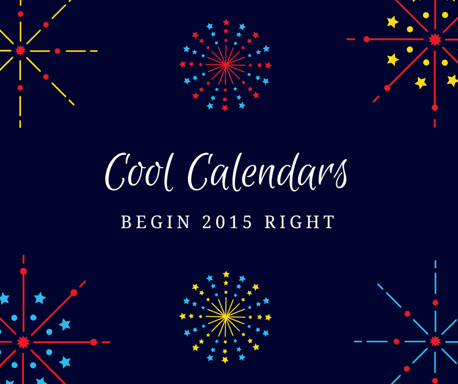 Cool Calendars to Ring in 2015