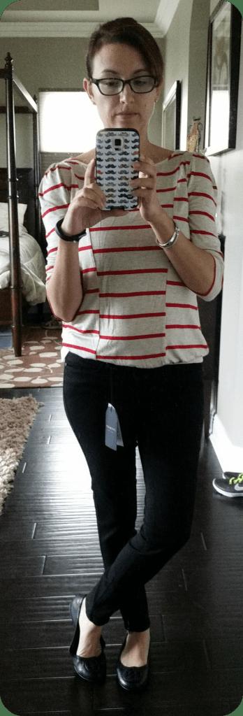 Just Black Jeans and Tart Shirt Stitch Fix