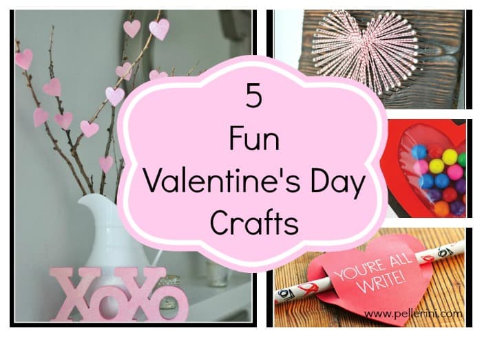 5 Fun Valentines Day Craft Ideas
