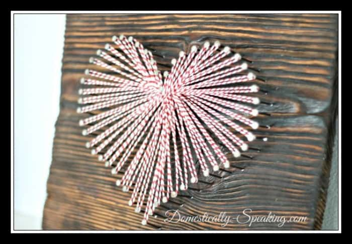Bakers Twine Heart by Domestically Speaking