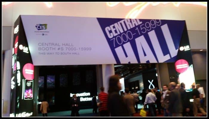 CES Central Hall