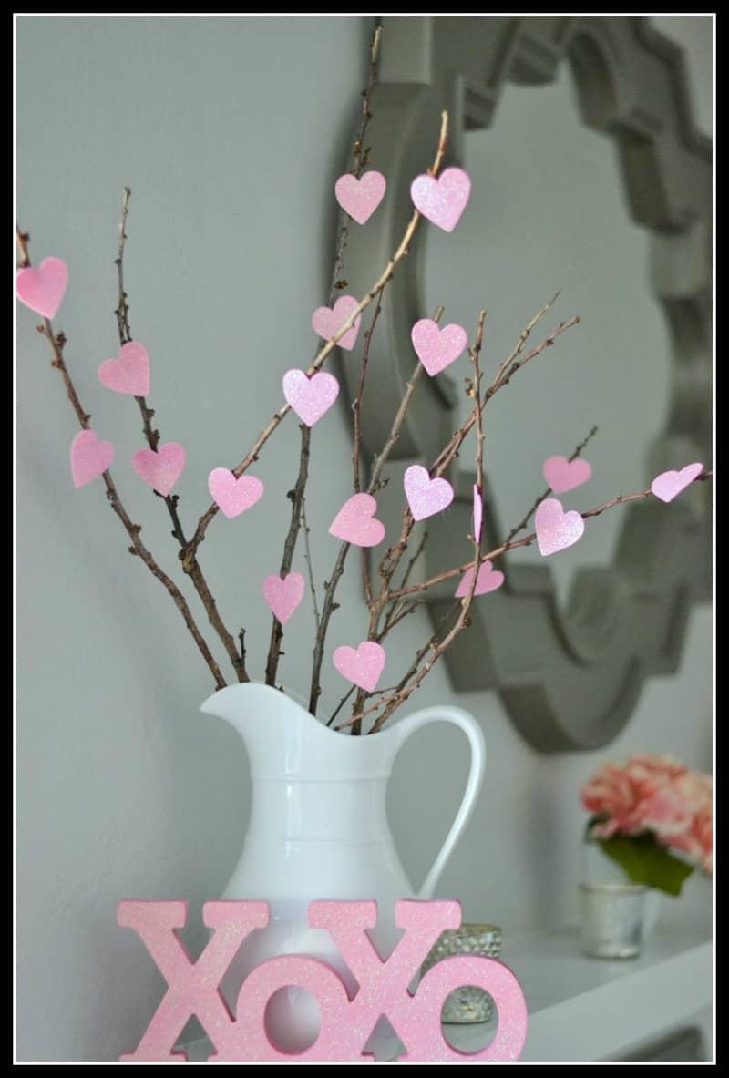 DIY Heart Tree by Money Hip Mamas
