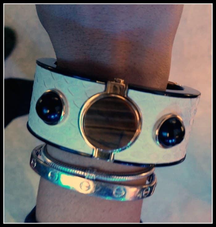 Intel Opening Ceremony Mica bracelet