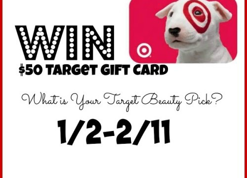 GIVEAWAY TIME – $50 Target Gift Card!