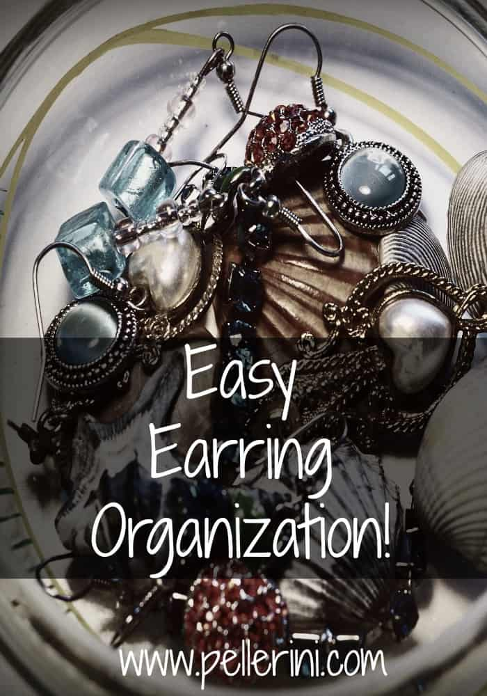 Easy Earring Organization