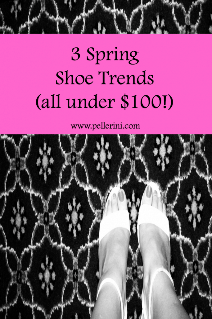 3 Spring Shoe Trends All Under 100