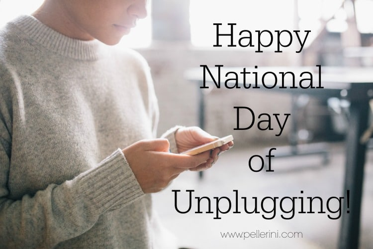 How Do You Feel About the National Day of Unplugging?
