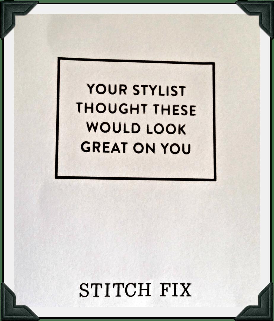 March Stitch Fix Picks