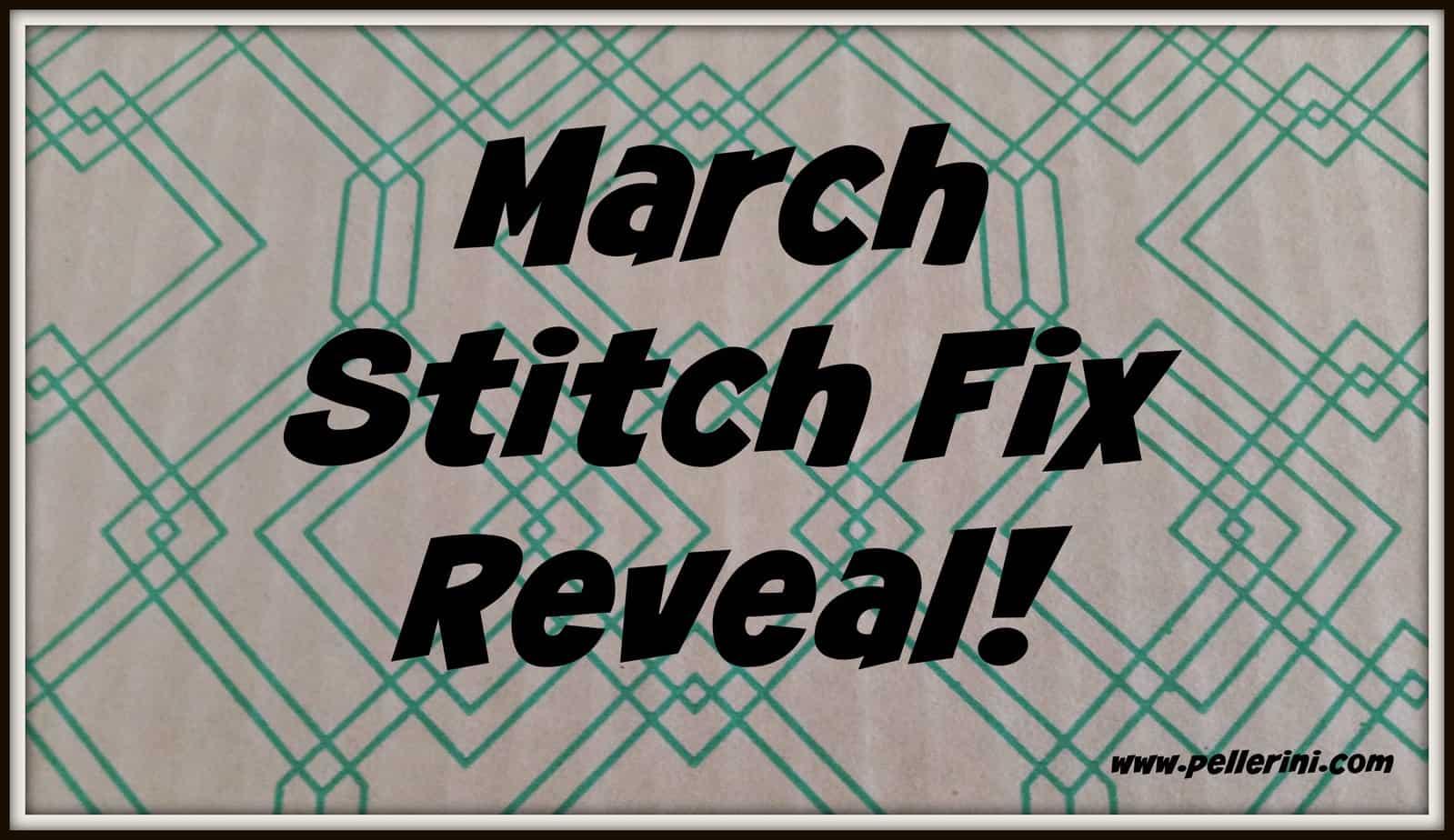 March Stitch Fix Reveal
