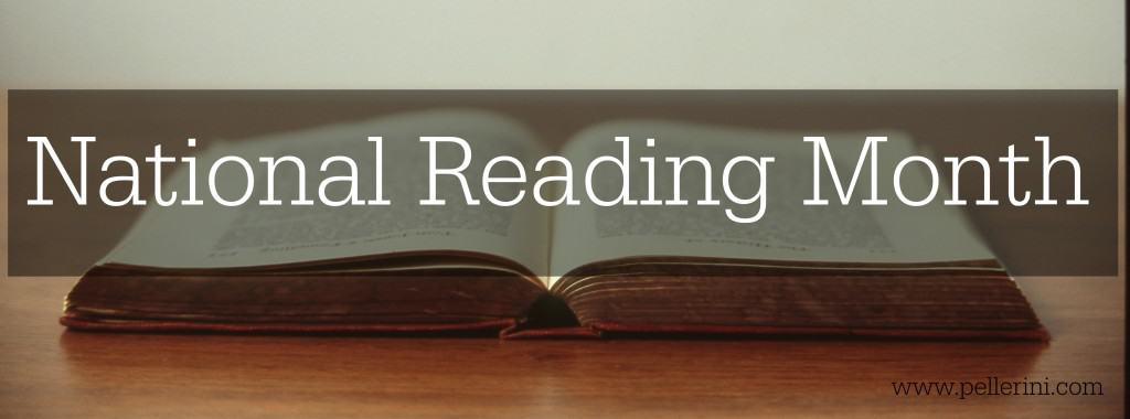 National Reading Month, books, reading list