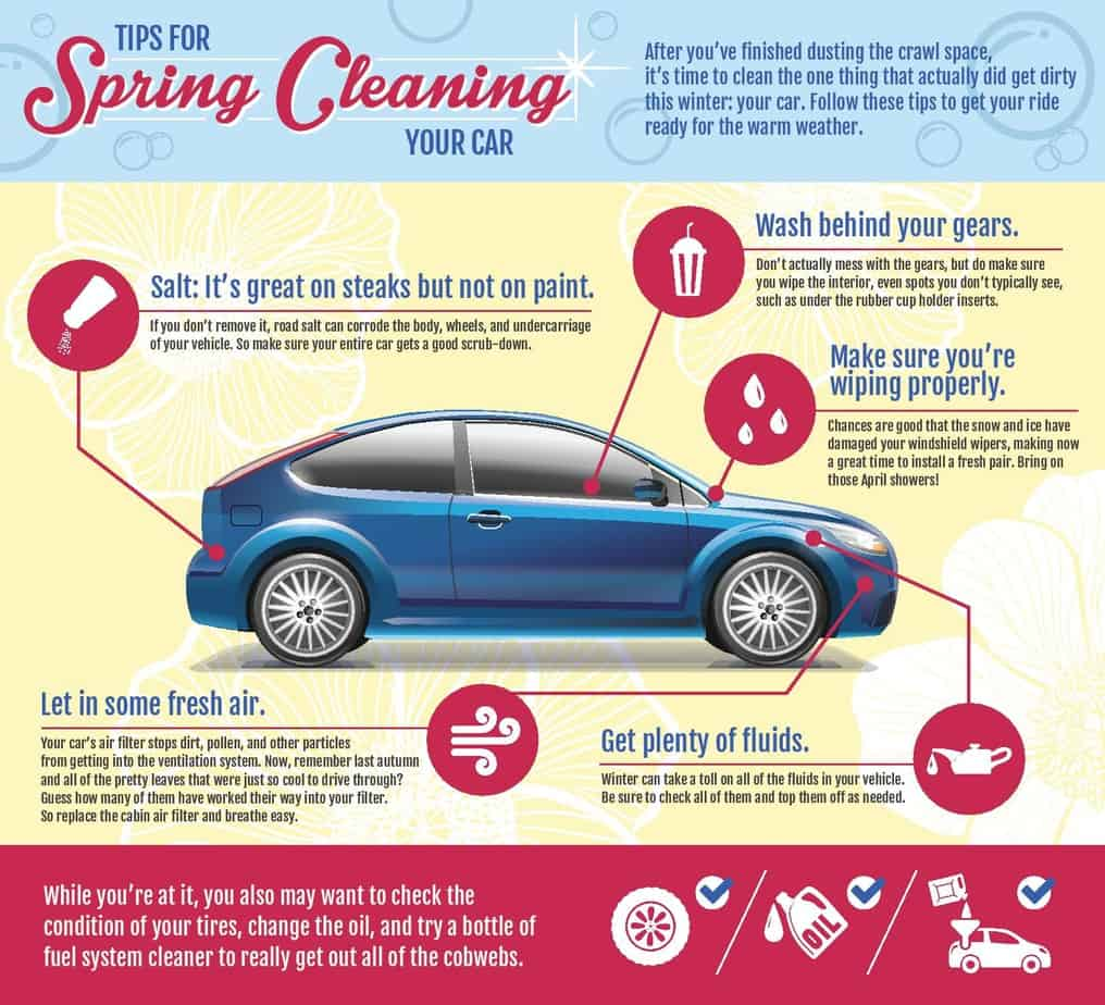 5 Tips to Better Clean Your Car for Spring
