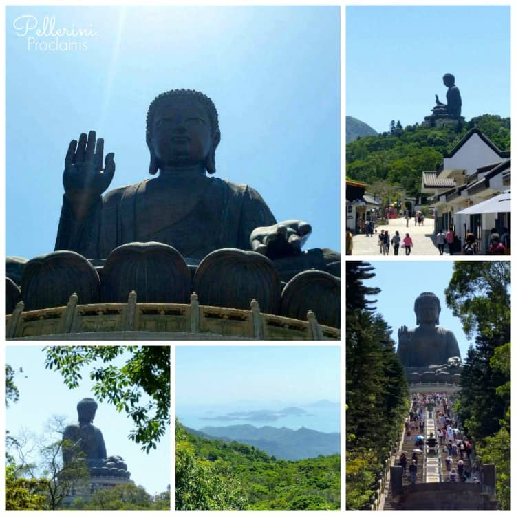 Big Buddha Collage