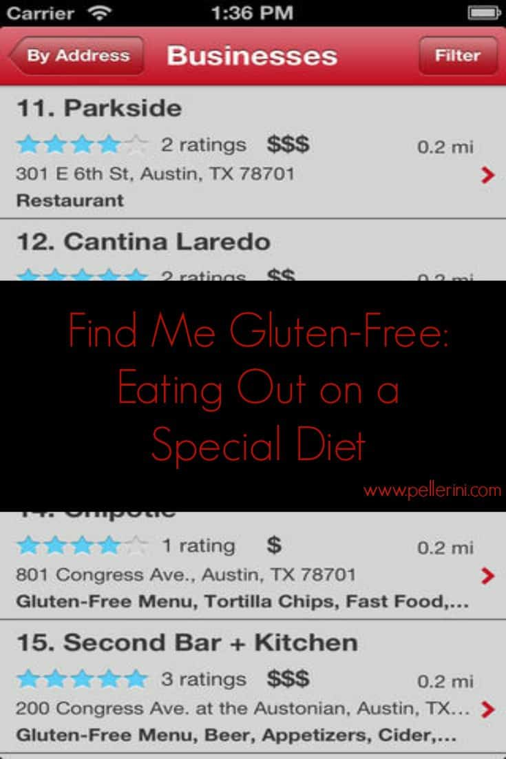 Find Me Gluten-Free Screen Shot