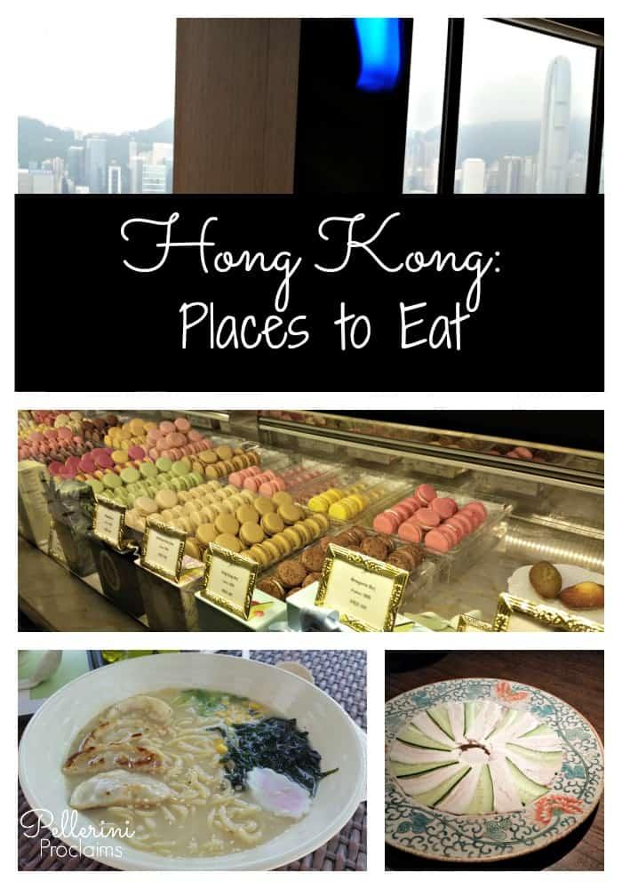HONG KONG: Places to Eat