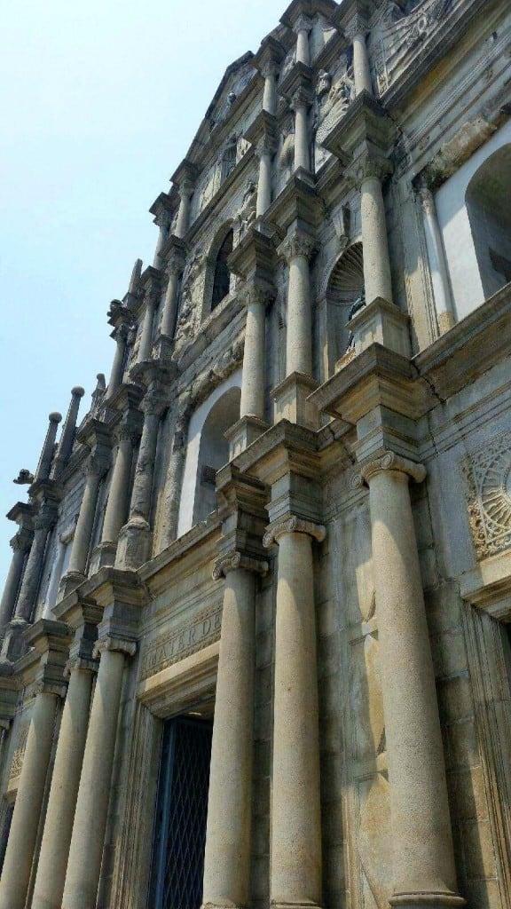 Macau Ruins of St Paul 2