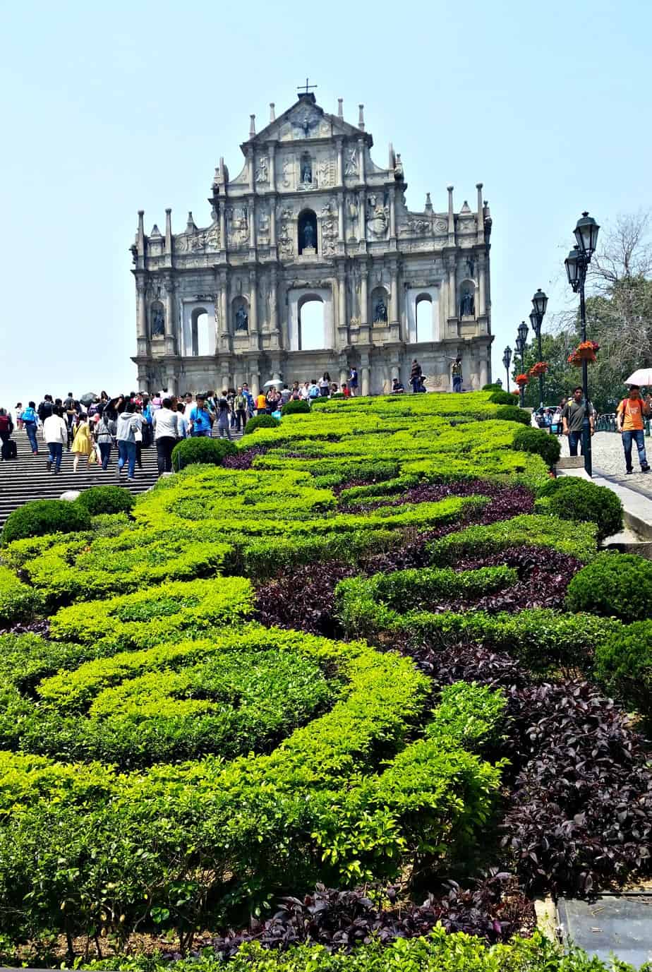 Macau Ruins of St. Paul