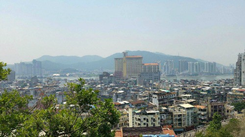 Macau view from Fort