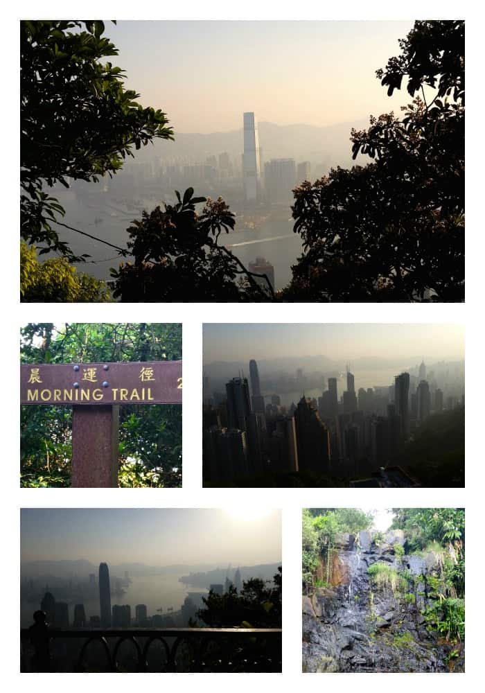 Morning Trail Collage Hong Kong