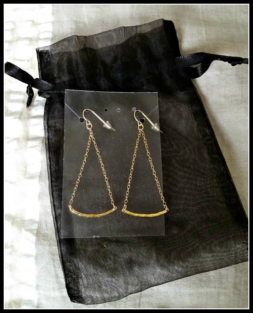 Rocksbox Gorjana Taner Bar Mini Swing Earrings