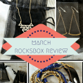 March Rocksbox Review
